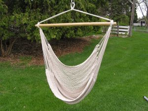hammock chair swing white rope swing left