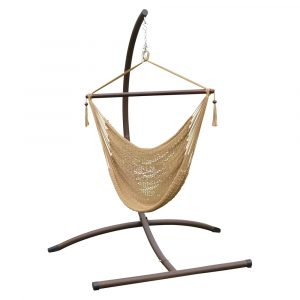 hammock swing chair hammockchairset tan new
