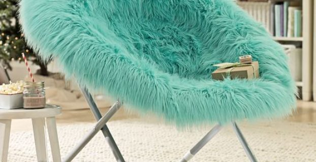 hang around chair pool fur rific faux fur hang a round chair c