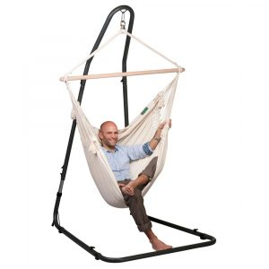 hanging chair with stand med hangchair stand anthrocite px