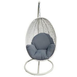 hanging egg chair peter egg white