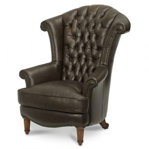 high back leather chair michael amini trevi leather high back chair