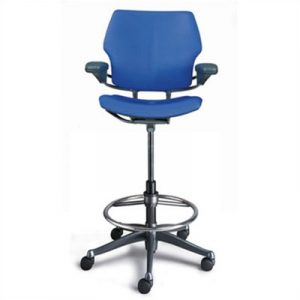 high desk chair humanscale freedom drafting chair