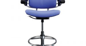 high desk chair humanscale freedom ergonomic drafting leather high office chair lg