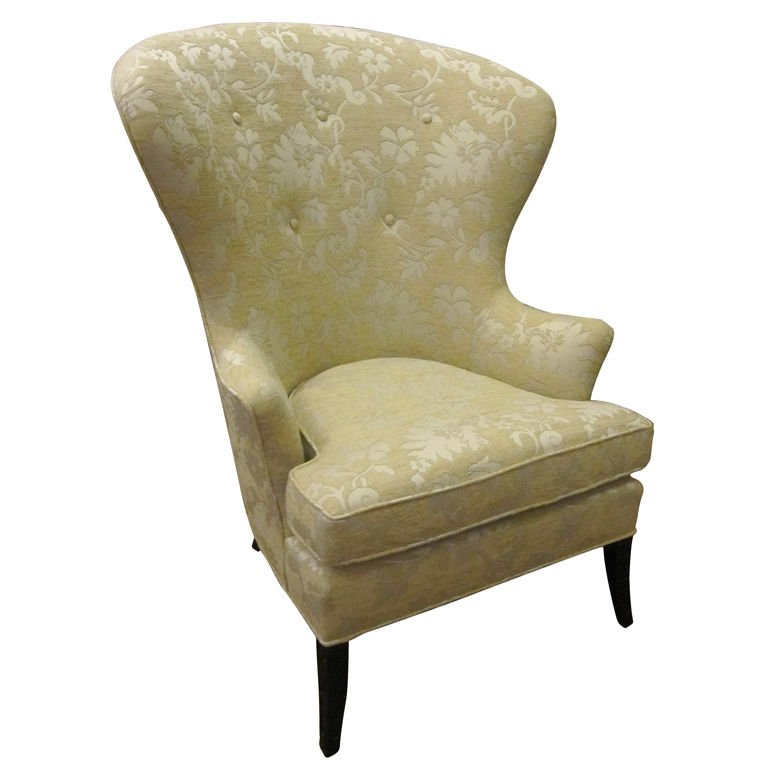 high wingback chair