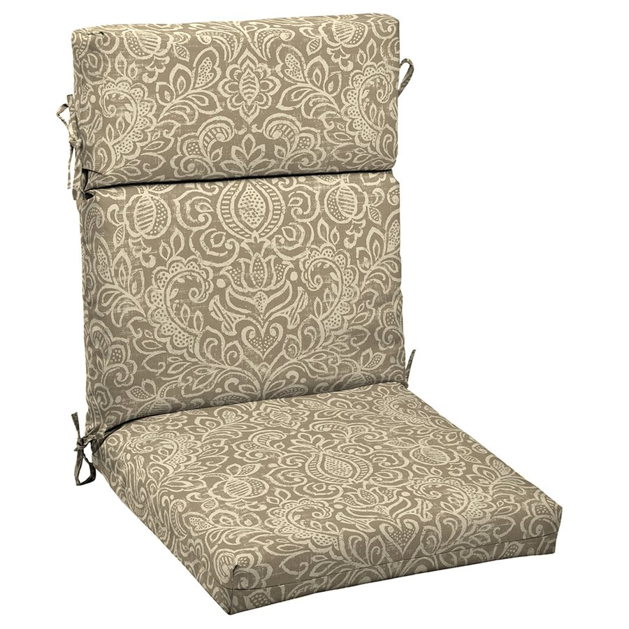 highback chair cushion