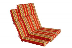 highback chair cushion high back chair cushions