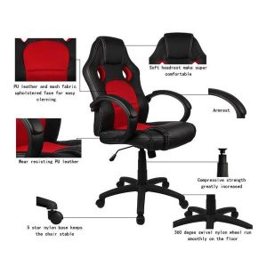 homall racing chair fa a c bce grande