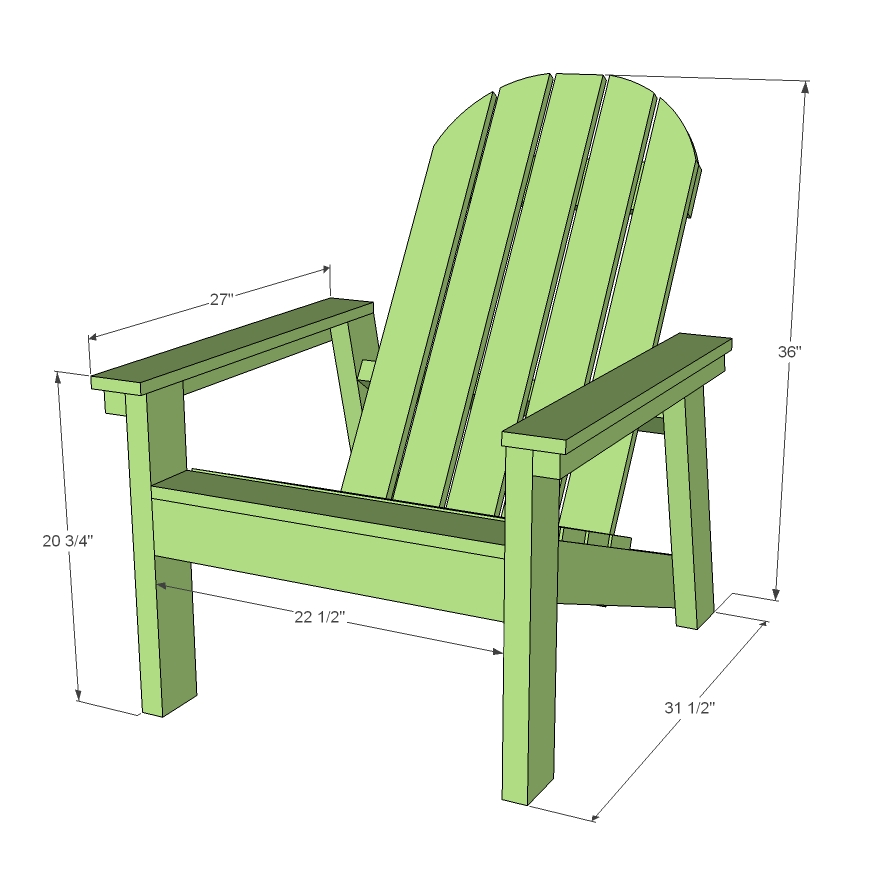 how to build a chair