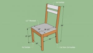 how to build a chair building a simple chair