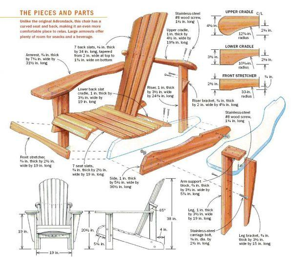 how to build a chair how to build adirondack chairs plans