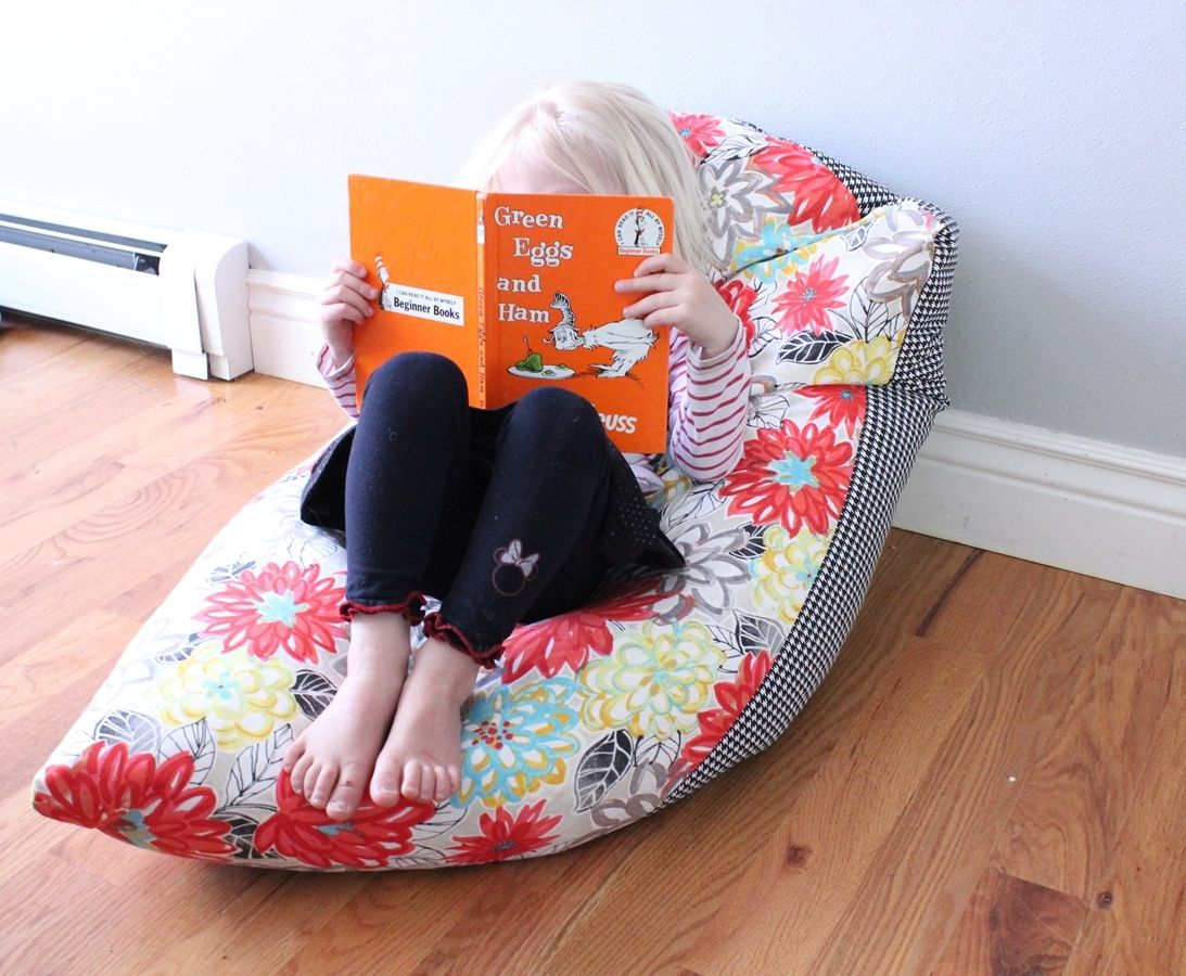 how to make a bean bag chair