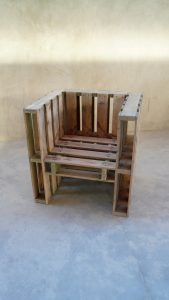 how to make a chair pallet furniture project