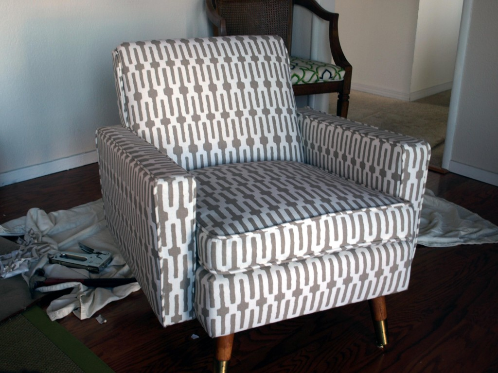 how to reupholster chair