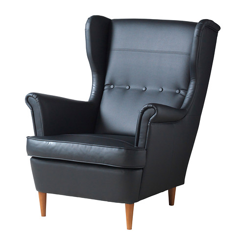 ikea wingback chair