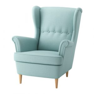 ikea wingback chair strandmon wing chair turquoise pe s