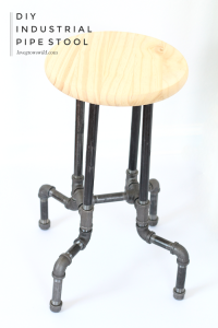 industrial office chair diy industrial pipe stools final