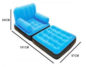 inflatable chair bed