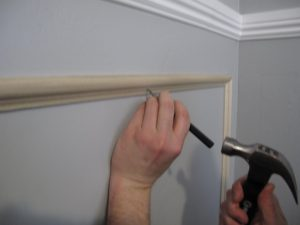 installing chair rail img