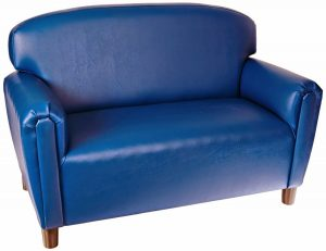 kid sleeper chair blue kids foam couch