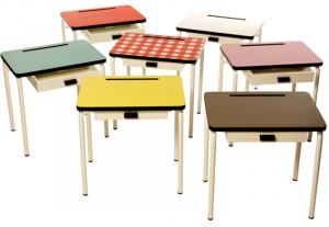 kids desk and chair retro school desks and chairs for kids