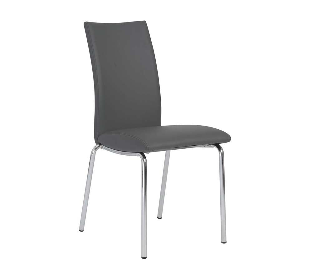 kids foam chair carmine grey b