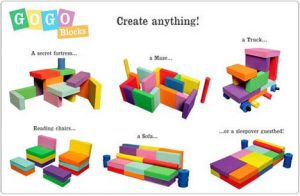 kids foam chair modular blocks toys playspaces