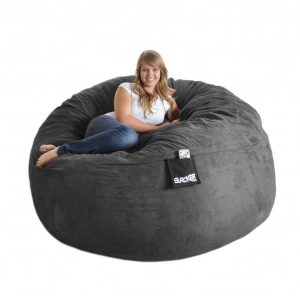 large bean bag chair black bean bag chairs