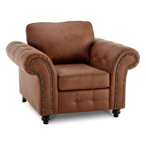leather arm chair oakland faux leather armchair arizona brown oudbyihk