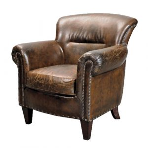 leather arm chair stark vintage brown leather armchair p