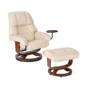 leather chair with ottoman bcb a d a bbbaef v