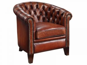 leather chesterfield chair chesterfield tub chair