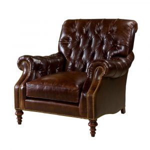 leather chesterfield chair s l