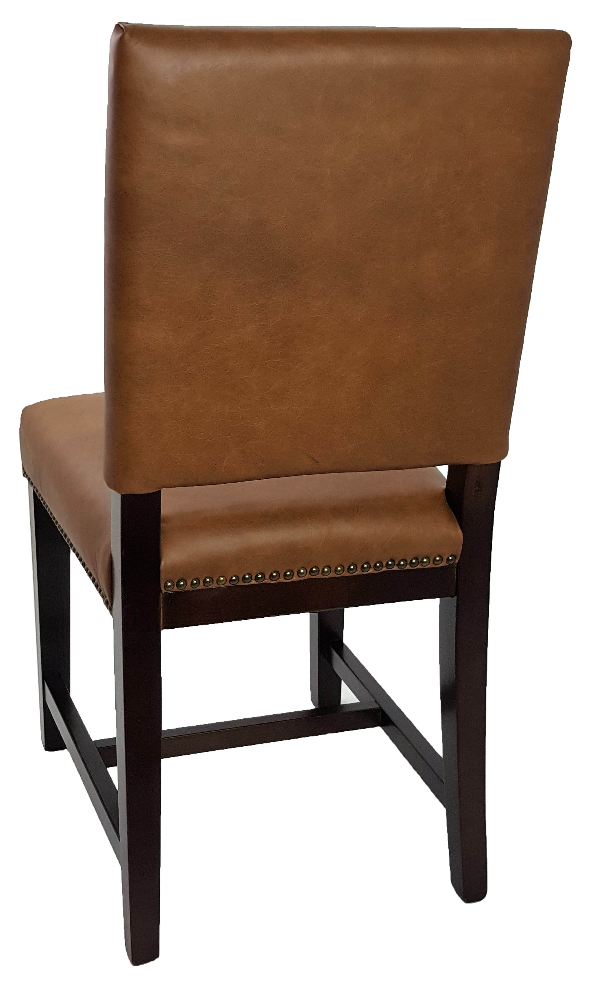 leather kitchen chair r db antique brown dinning chair new