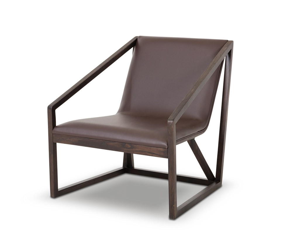 leather lounge chair my taranto modern brown leather lounge chair dsc