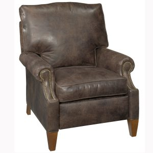 leather reclining chair carson designer style contemporary leather reclining chair