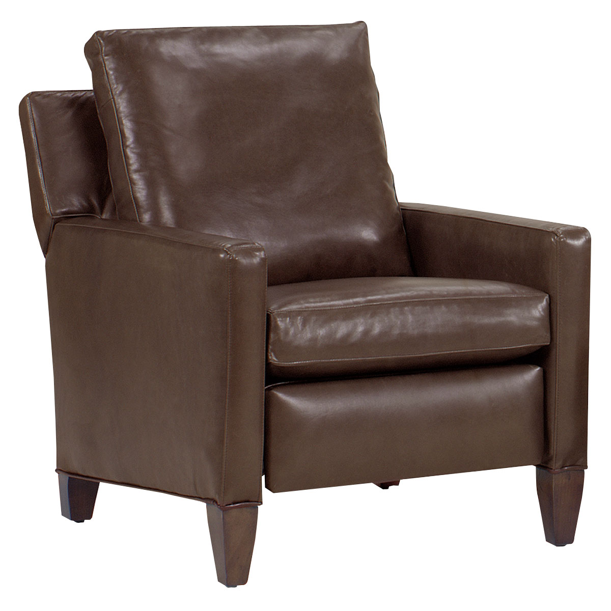 leather reclining chair kirk tall leg leather reclining chair