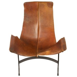 leather sling chair danl org z
