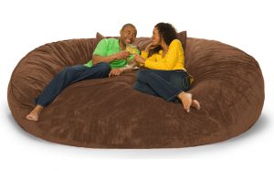 lovesac bean bag chair addl dm foot fombag l