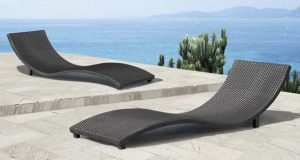 low camping chair modern outdoor chaise lounges