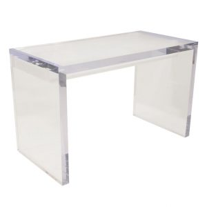 lucite desk chair lucite desk