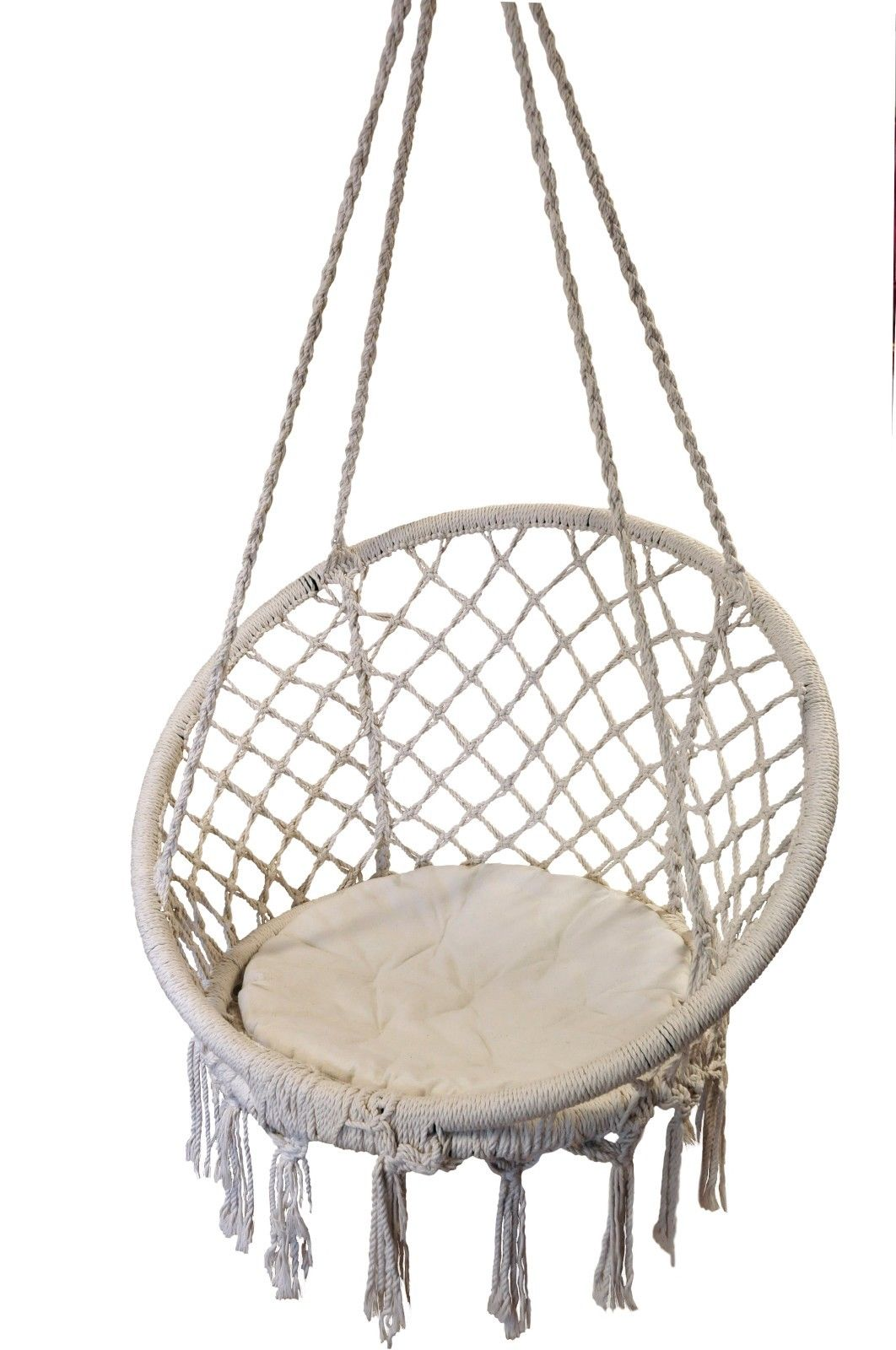 macrame hanging chair macrame hanging chair rope