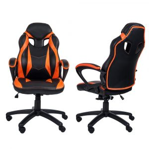 merax gaming chair review merax racing style gaming chair orange