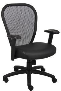 mesh seat office chair b