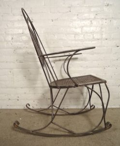 metal rocking chair dsc l