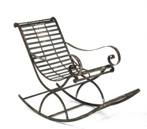 metal rocking chair farmhouse rocking chairs