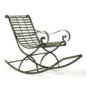 metal rocking chair product