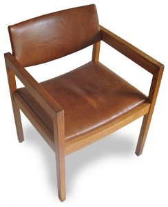 mid century leather chair midcentury chairs