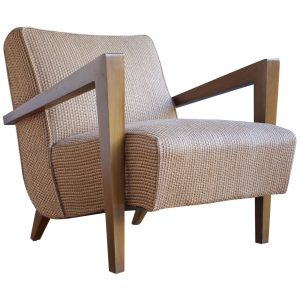mid century modern lounge chair l