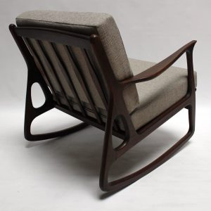 mid century modern rocking chair img z
